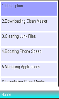 Clean Master Cleaner Manual