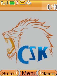 Free Download Csk Ipl for Nokia Asha 206 - Themes & Wallpapers