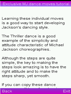 Exclusive MJ dance moves tutorial