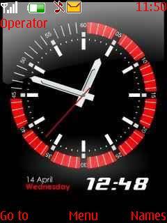 Free Download Flash Clock 9 for Nokia Asha 206 - App