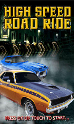 free-High Speed Road Ride