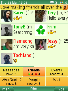Frim - find new friends