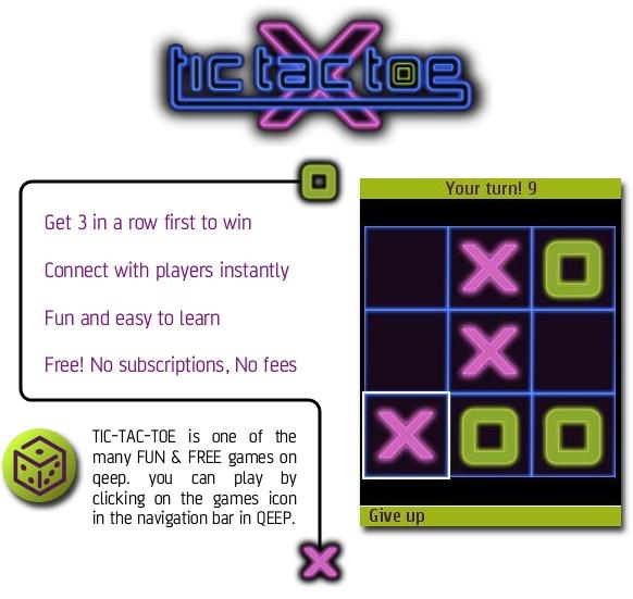 Free Download TicTacToe Game for Nokia Asha 308 / 309 - App