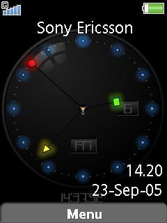Glow Neon Clock