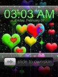 heart clock.....