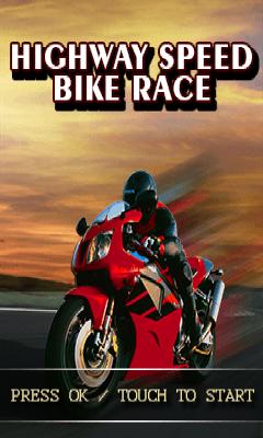 Highway speed bike race-Free