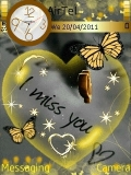 i miss you...