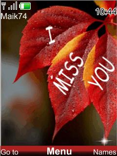 Free Download I Miss You For Java App