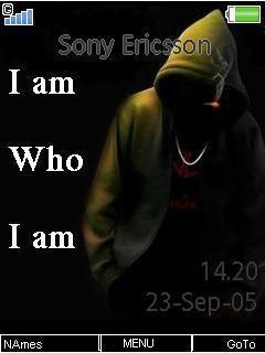 Iam Who Iam