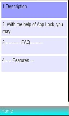 Info On Applock