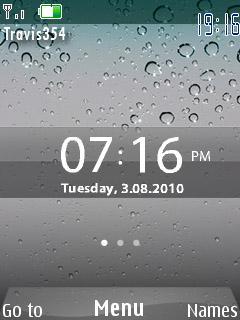 Iphone 4 Clock