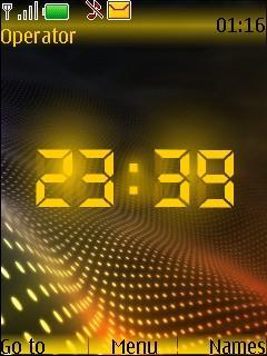 Lighton 2 Clock