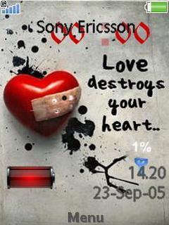 Love Destroys Clock