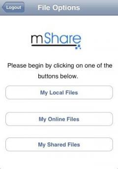 mShare (Java)
