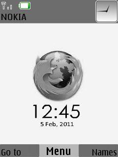 Mozilla Clock