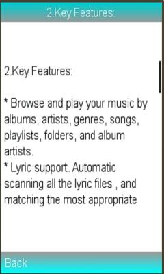 Music Player / Audio Player Guide