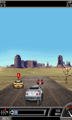Need For Speed ProStreet 2D