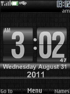New Icons Clock