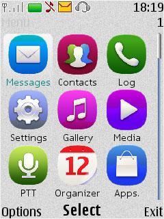 Nokia Anna Icons
