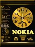 Nokia Clock with Menu