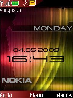 Nokia Red - Green