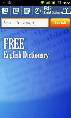 Offline English Dictionary Free