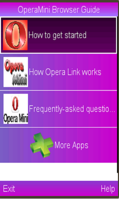 Opera Mini Browser Guide