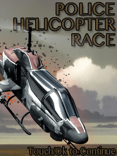 Police Helicopter Race
