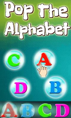 Pop The Alphabet