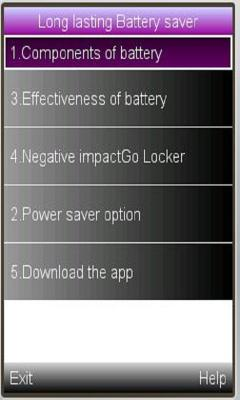 Powerful battery saver