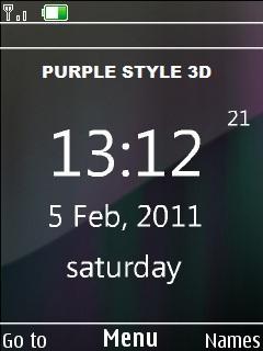 Purple Style 3d