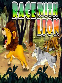 Race With Lion