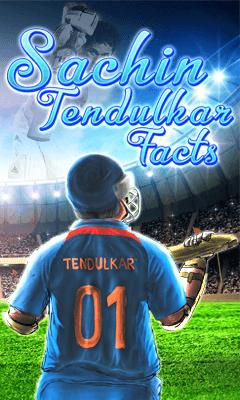Sachin Tendulkar Facts