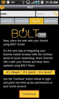 Secure Bolt Browser New
