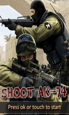 Shoot Ak-74