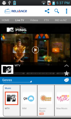 Smart Mobile Tv live