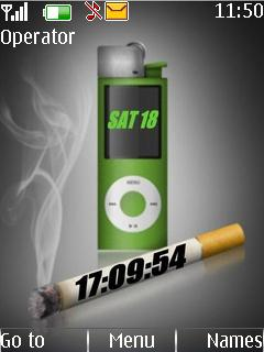 Smoke Clock