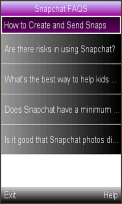 SnapCat FAQS- Parental Info