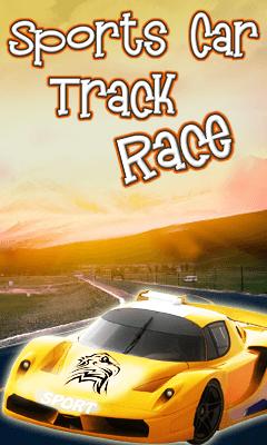 Sports Car Track Dash