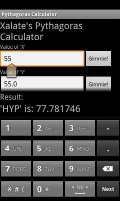 T-ouch screen Calculator