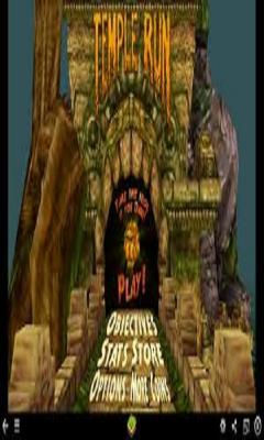 Temple Rush Slide Puzzle