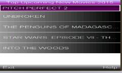 TOP UPCOMING MOVIES 2015