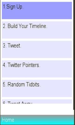 Twitter info
