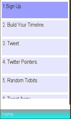 Twitter Installation Info