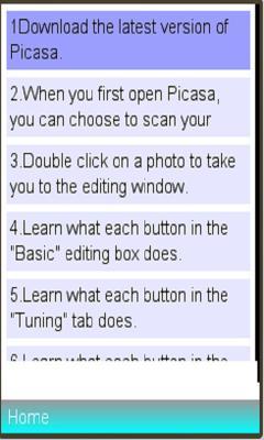 Use Picasa