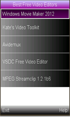 video editing latesst