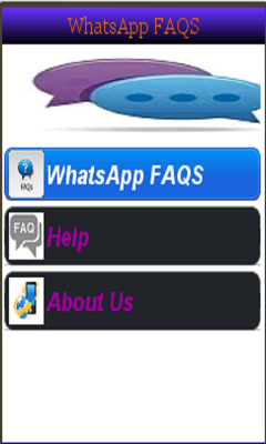 WhatsApp FAQS
