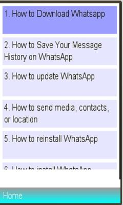 WhatsApp Frequent Asked Question