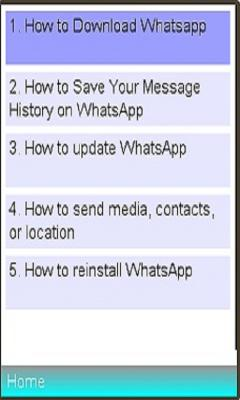 WhatsApp Installation / Usage