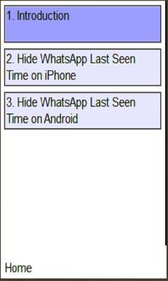 WhatsApp LastSeen